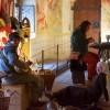 Hannes beminnte uns und die Gäste mit Musik auf seiner selbstgebauten Laute.